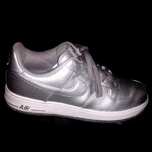 Nike Other - Platinum Nike Air Force Ones
